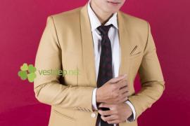 Vest cưới trẻ trung cho chú rể 2015