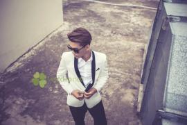 BST vest nam gam màu trắng đẹp tinh tế
