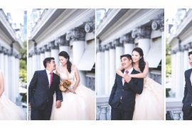 Tư vấn chọn vest chú rể phù hợp với váy cô dâu