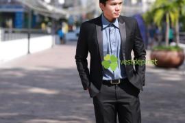 Phong cách nổi bật với vest công sở kiểu hàn quốc thời trang