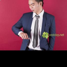 Cách phối vest nam màu xanh thông minh