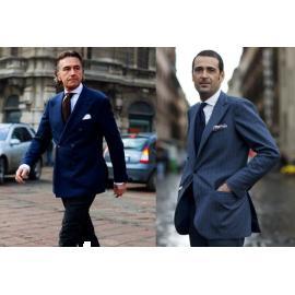 Vì sao trung niên thích mặc vest form 2 nút rộng